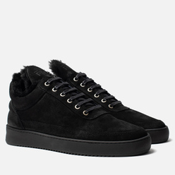 Кроссовки Filling Pieces Low Top Ripple Tinza All Black