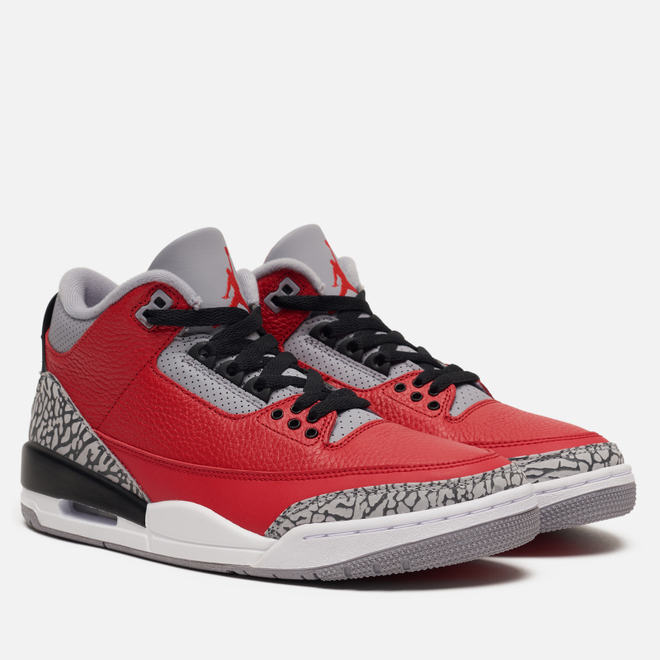 Кроссовки Jordan Air Jordan 3 Retro SE Red Cement Fire Red/Fire Red/Cement Grey/Black