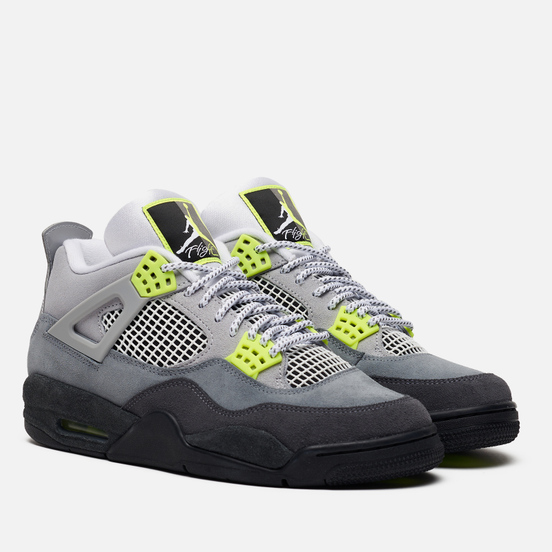 Кроссовки Jordan Air Jordan 4 Retro SE Cool Grey/Volt/Wolf Grey/Anthracite