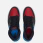 Женские кроссовки Jordan Wmns Air Jordan 1 High OG UNC To Chicago Black/Dark Powder Blue/Gym Red фото - 1