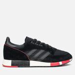 Мужские кроссовки adidas Originals Boston Super Black/Red фото- 0