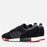 Мужские кроссовки adidas Originals Boston Super Black/Red фото- 2