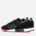 Мужские кроссовки adidas Originals Boston Super Black/Red фото- 2