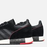 Мужские кроссовки adidas Originals Boston Super Black/Red фото- 5