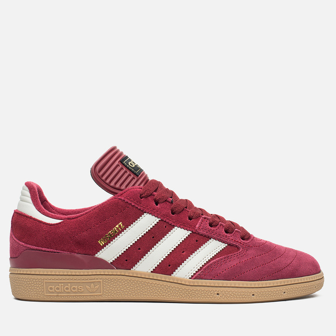adidas Originals Busenitz Men's Sneakers Colligiate Burgundy/Gum
