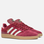 adidas Originals Busenitz Men's Sneakers Colligiate Burgundy/Gum photo- 1