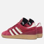adidas Originals Busenitz Men's Sneakers Colligiate Burgundy/Gum photo- 2
