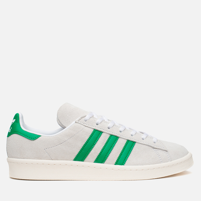Мужские кроссовки adidas Originals Campus 80's Nigo Suede White/Green