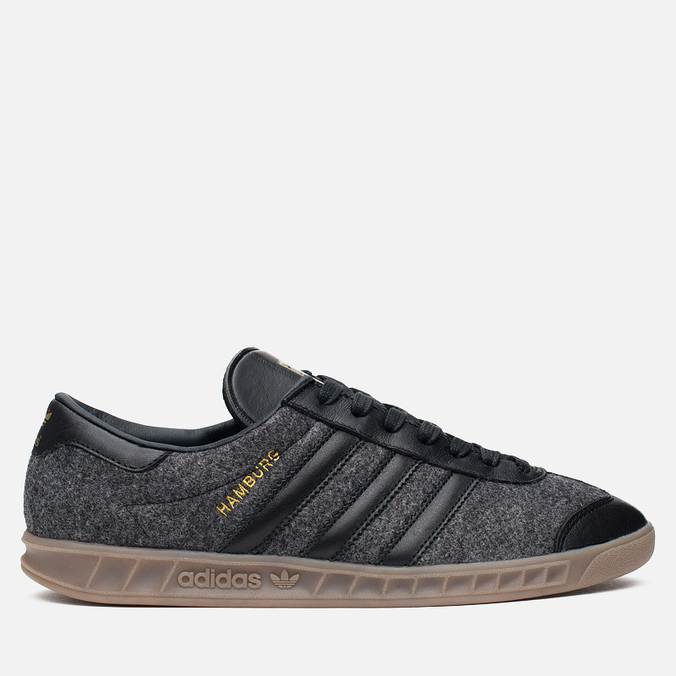 Мужские кроссовки adidas Originals Hamburg Black/Black