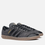 Мужские кроссовки adidas Originals Hamburg Black/Black фото- 1