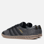 Мужские кроссовки adidas Originals Hamburg Black/Black фото- 2
