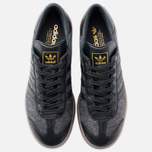 Мужские кроссовки adidas Originals Hamburg Black/Black фото- 4