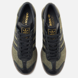 Кроссовки adidas Originals Hamburg Wool Pack Jungle Ink/Black/Gum фото- 4