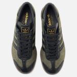 adidas Originals Hamburg Wool Pack Sneakers Jungle Ink/Black/Gum photo- 4