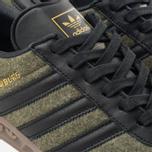 adidas Originals Hamburg Wool Pack Sneakers Jungle Ink/Black/Gum photo- 6