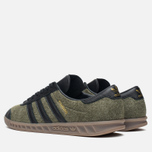 Кроссовки adidas Originals Hamburg Wool Pack Jungle Ink/Black/Gum фото- 2