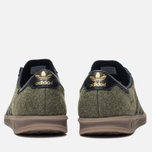 Кроссовки adidas Originals Hamburg Wool Pack Jungle Ink/Black/Gum фото- 3