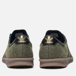 adidas Originals Hamburg Wool Pack Sneakers Jungle Ink/Black/Gum photo- 3