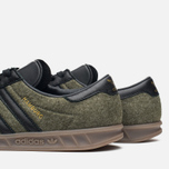 Кроссовки adidas Originals Hamburg Wool Pack Jungle Ink/Black/Gum фото- 5
