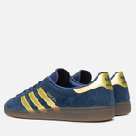 Кроссовки adidas Originals Munchen Spezial Navy/Gold/Sky фото- 2