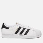Мужские кроссовки adidas Originals Superstar White/Core Black фото- 0