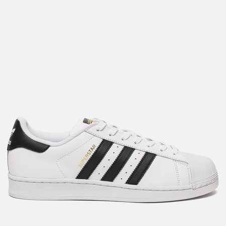 Мужские кроссовки adidas Originals Superstar White/Core Black