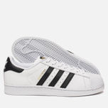 Кроссовки adidas Originals Superstar White/Core Black фото- 2