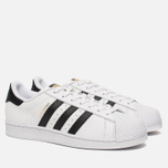 Кроссовки adidas Originals Superstar White/Core Black фото- 1