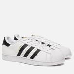 Мужские кроссовки adidas Originals Superstar White/Core Black фото- 1
