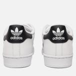 Мужские кроссовки adidas Originals Superstar White/Core Black фото- 3