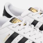 Мужские кроссовки adidas Originals Superstar White/Core Black фото- 5