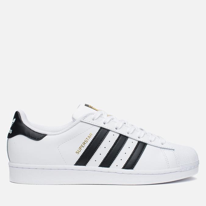 Мужские кроссовки adidas Originals Superstar White/Core Black