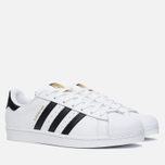 Мужские кроссовки adidas Originals Superstar White/Core Black фото- 1