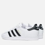 Мужские кроссовки adidas Originals Superstar White/Core Black фото- 2