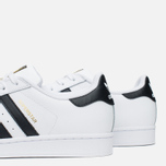 Мужские кроссовки adidas Originals Superstar White/Core Black фото- 5