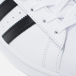 Мужские кроссовки adidas Originals Superstar White/Core Black фото- 7