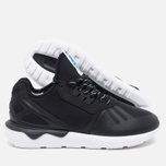 Мужские кроссовки adidas Originals Tubular Runner Black/White фото- 2
