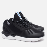 Мужские кроссовки adidas Originals Tubular Runner Black/White фото- 1