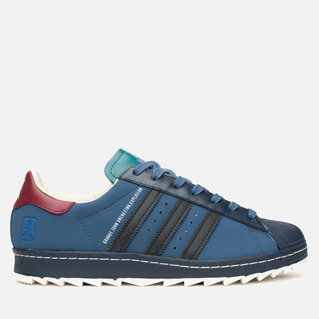 Мужские кроссовки adidas Originals Superstar 80s Ripple GJOE Marin/Navy/Burgundy