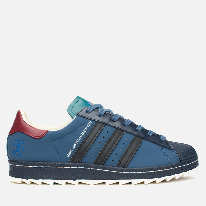 adidas Originals x GJO.E Superstar 80's Ripple Men's Sneakers Marin/Navy/Burgundy