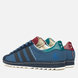 Мужские кроссовки adidas Originals Superstar 80s Ripple GJOE Marin/Navy/Burgundy фото- 2