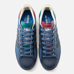 adidas Originals x GJO.E Superstar 80's Ripple Men's Sneakers Marin/Navy/Burgundy photo- 4