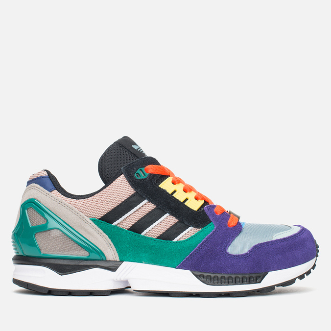 Мужские кроссовки adidas Originals ZX 8000 Dust Pearl/Black/Green