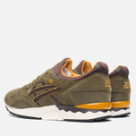 Мужские кроссовки ASICS Gel-Lyte V Olive/Dark Brown фото- 2