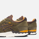 Мужские кроссовки ASICS Gel-Lyte V Olive/Dark Brown фото- 7