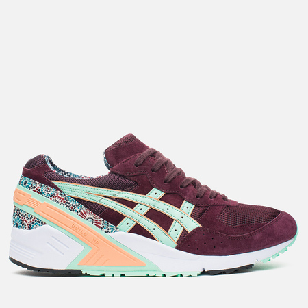 Мужские кроссовки ASICS x Overkill Gel-Sight Desert Rose Vineyard Wine/Brook Green