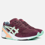 Мужские кроссовки ASICS x Overkill Gel-Sight Desert Rose Vineyard Wine/Brook Green фото- 1