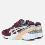 Мужские кроссовки ASICS x Overkill Gel-Sight Desert Rose Vineyard Wine/Brook Green фото- 2