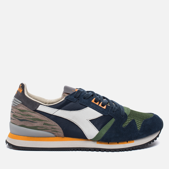 Мужские кроссовки Diadora Heritage Exodus Camo Blue Denim/Vineyard Green