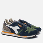 Мужские кроссовки Diadora Heritage Exodus Camo Blue Denim/Vineyard Green фото- 1